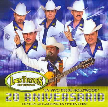 20 ANIVERSARIO BY LOS TUCANES DE TIJUA (CD)